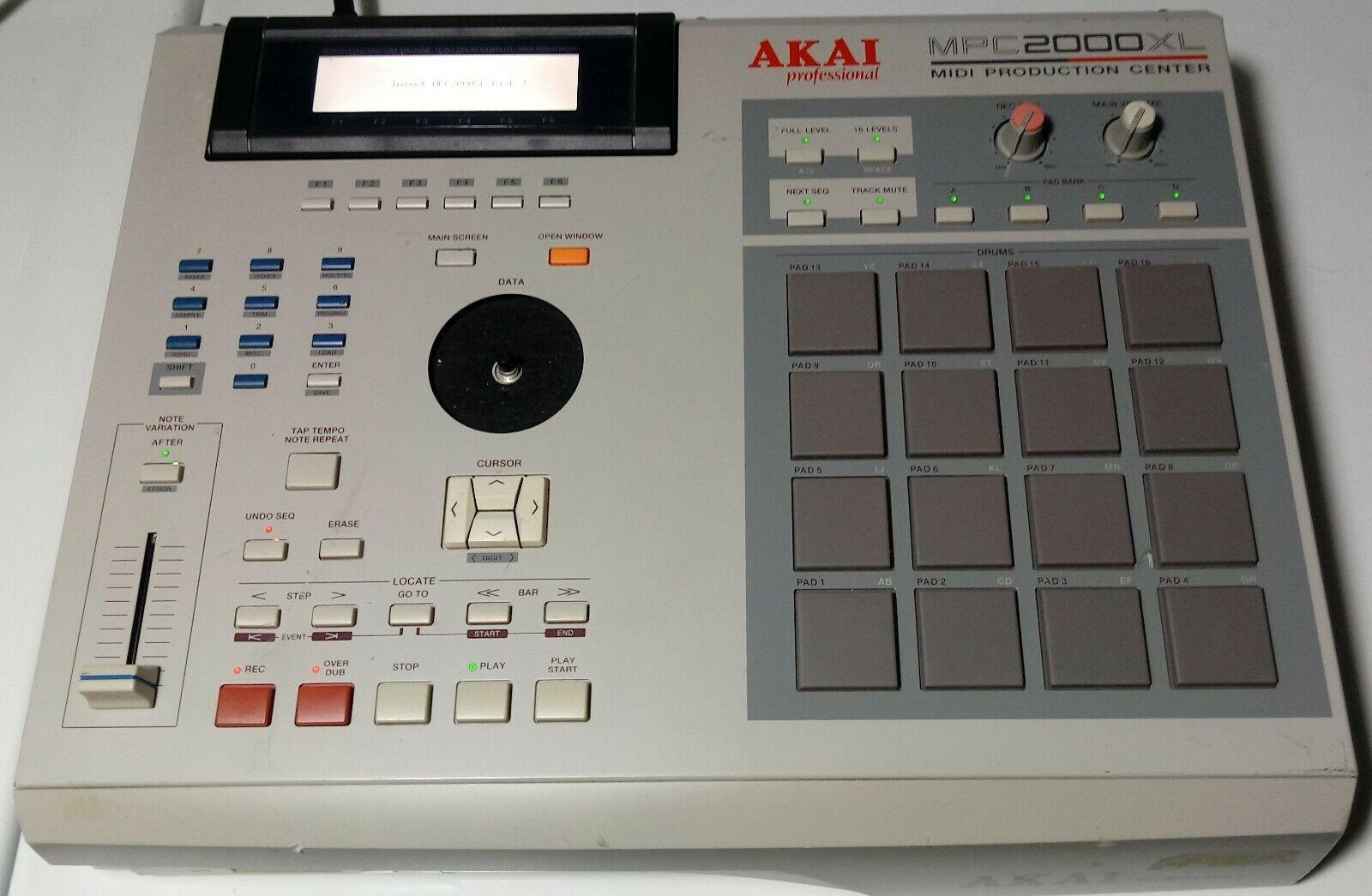 MPCHunter » Blog Archive » Akai MPC 2000XL Project Machine